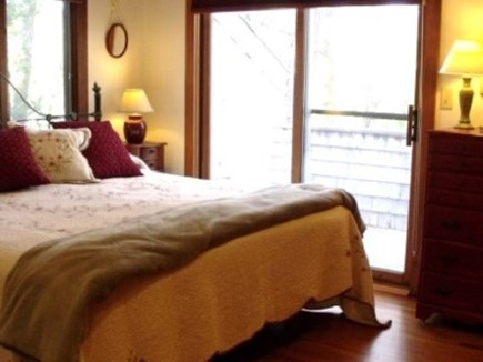 Edgartown  Ferry tix for most  Martha's Vineyard vacation rental - Master bedroom with a king bed