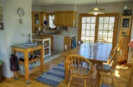 Edgartown Martha's Vineyard vacation rental - Dining and kitchen area