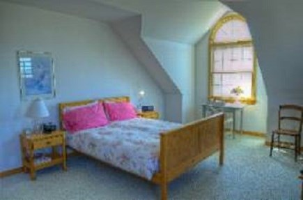 Edgartown Martha's Vineyard vacation rental - Upstairs Bedroom with queen size bed.