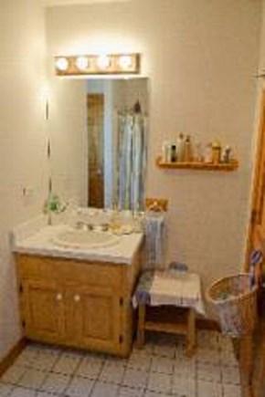 Edgartown, Katama Martha's Vineyard vacation rental - Bathroom with bathtub and shower