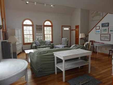 Edgartown Martha's Vineyard vacation rental - Two story living room