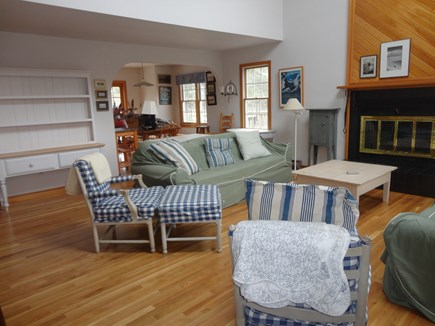 Edgartown Martha's Vineyard vacation rental - Living and dining rooms