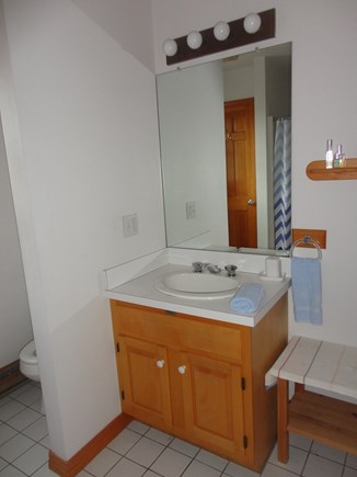 Edgartown Martha's Vineyard vacation rental - Bathroom with bathtub and shower