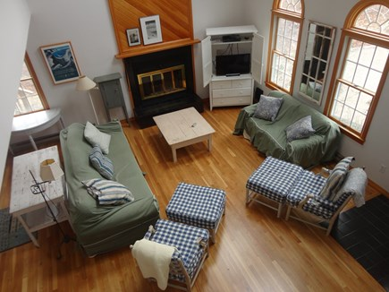 Edgartown Martha's Vineyard vacation rental - Overlooking living room