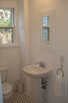 Vineyard Haven Martha's Vineyard vacation rental - Half bath (first floor)