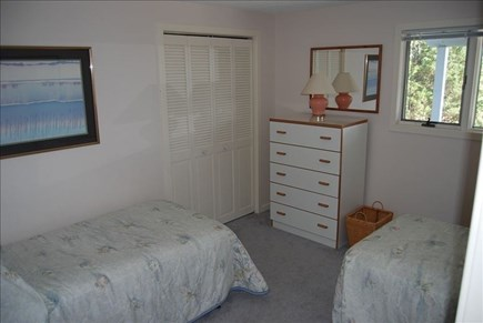 Katama - Edgartown Martha's Vineyard vacation rental - Bedroom on 1st floor - 2 Twins