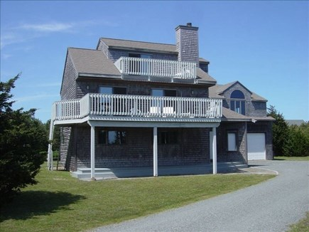 Katama - Edgartown Martha's Vineyard vacation rental - Front view of house