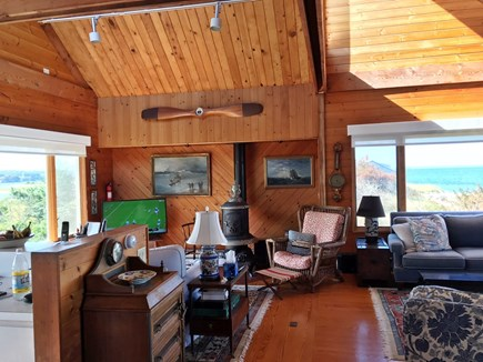 Vineyard Haven Martha's Vineyard vacation rental - Open rooms for entertaining