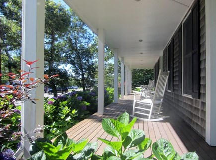 oak bluffs Martha's Vineyard vacation rental - Enjoy your morning coffee on the porch