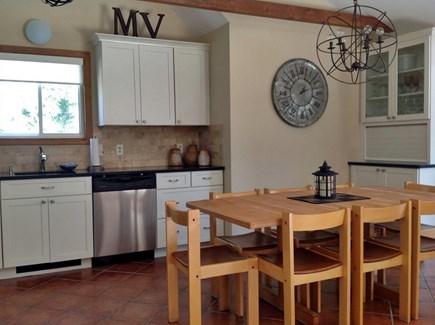 Katama - Edgartown Martha's Vineyard vacation rental - Modern kitchen with seating for 8