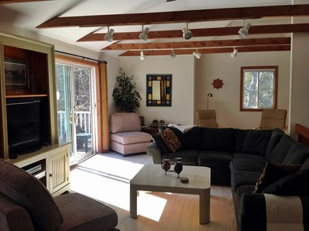 Katama - Edgartown Martha's Vineyard vacation rental - Open concept living area