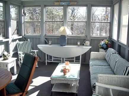 Katama - Edgartown Martha's Vineyard vacation rental - Screened porch off living area