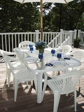 Katama - Edgartown Martha's Vineyard vacation rental - Outdoor dining area