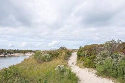 Vineyard Haven Martha's Vineyard vacation rental - Beach path to association beach.