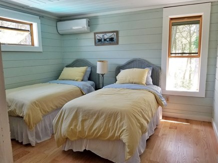 Vineyard Haven Martha's Vineyard vacation rental - Twin bedroom; can also be configured as a king-size bed.