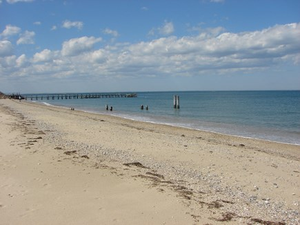 Oak Bluffs, East Chop Martha's Vineyard vacation rental - Beautiful Jetty Beach is just 1/2 mile away
