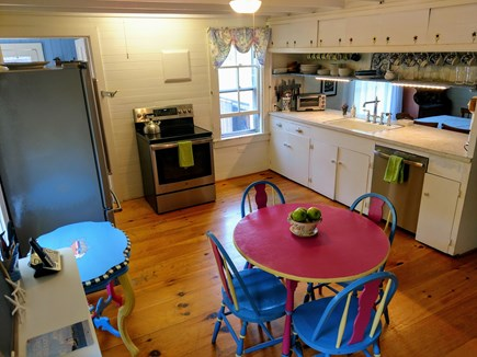 Oak Bluffs, East Chop Martha's Vineyard vacation rental - The large sunny kitchen includes all of the amenities