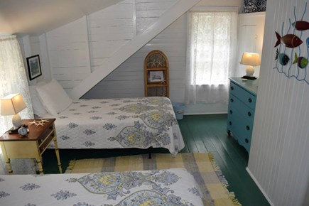 Oak Bluffs, East Chop Martha's Vineyard vacation rental - Bedroom 4 with Jack & Jill bath, second floor.