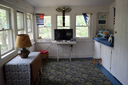 Oak Bluffs, East Chop Martha's Vineyard vacation rental - The game room gives kids a place to call their own.