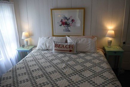 Oak Bluffs, East Chop Martha's Vineyard vacation rental - Bedroom 6 with king bed and Jack & Jill bath, second floor.