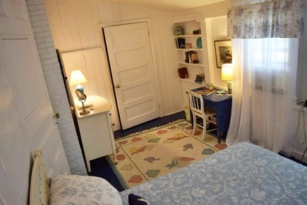 Oak Bluffs, East Chop Martha's Vineyard vacation rental - Bedroom 2 with en suite, first floor.