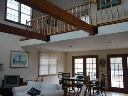 Katama Edgartown   Martha's Vineyard vacation rental - Loft with open concept living and dining rooms