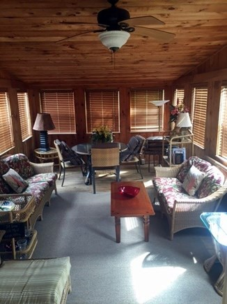 Oak Bluffs Martha's Vineyard vacation rental - The sunroom is great for enjoying breakfast and watching the news