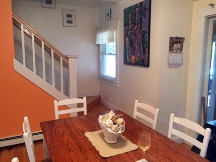 Oak Bluffs Martha's Vineyard vacation rental - The kitchen opens up to the sunroom