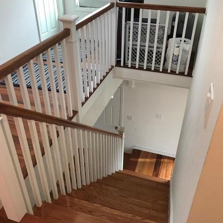 Chilmark Martha's Vineyard vacation rental - Stairway downstairs