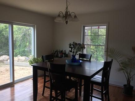 Chilmark Martha's Vineyard vacation rental - Open dining room