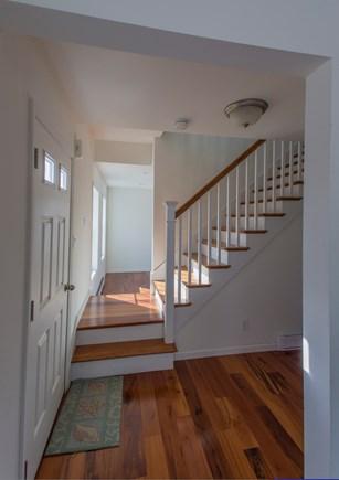 Chilmark Martha's Vineyard vacation rental - Living room to stairway
