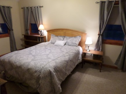 Aquinnah Martha's Vineyard vacation rental - This master bedroom has a queen size bed.