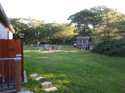 Aquinnah Martha's Vineyard vacation rental - An outdoor shower