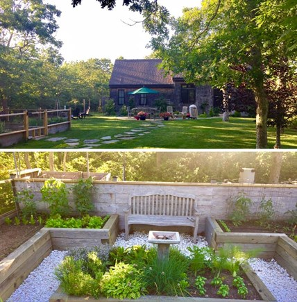 Edgartown Martha's Vineyard vacation rental - Garden Cottage, is located on a private 3 acre compound.