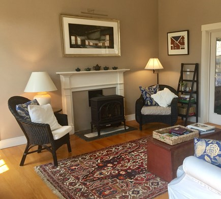 Edgartown Martha's Vineyard vacation rental - Enjoy the gas fireplace on cool evenings