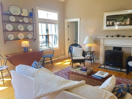 Edgartown Martha's Vineyard vacation rental - Great Room floods with sunshine and opens to screened porch.