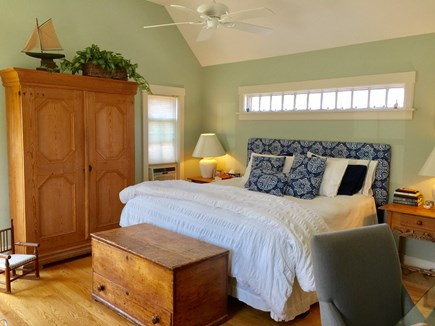 Edgartown Martha's Vineyard vacation rental - Large Master with walk in closet and computer desk