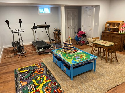 Oak Bluffs - Meadow View Farms Martha's Vineyard vacation rental - Fully equipped playroom and exercise area.