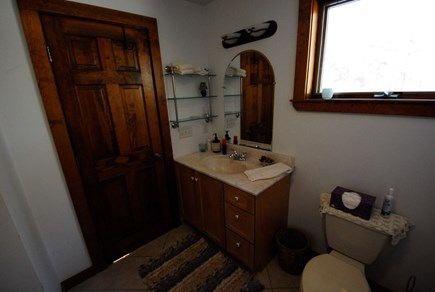 Oak Bluffs - Meadow View Farms Martha's Vineyard vacation rental - Upstairs en-suite west bathroom.