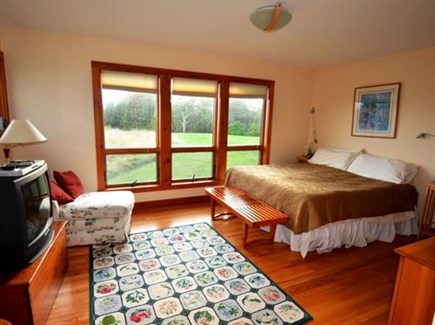 Chilmark Martha's Vineyard vacation rental - Large master suite with king bed