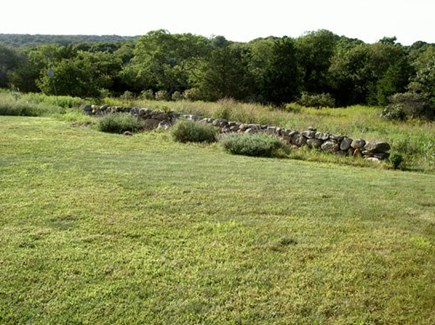 Chilmark Martha's Vineyard vacation rental - Spectacular open backyard with private access to beach