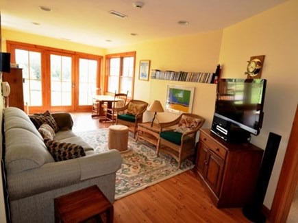 Chilmark Martha's Vineyard vacation rental - Modern updated entertainment room with everything you need