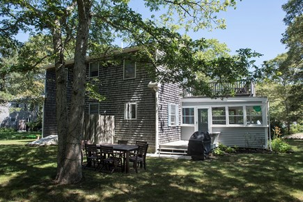 Oak Bluffs Martha's Vineyard vacation rental - Spacious back yard with outdoor dining area.