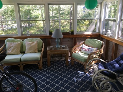 Oak Bluffs Martha's Vineyard vacation rental - Enclosed sun porch