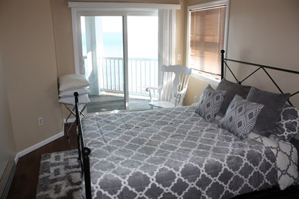 Oak Bluffs Martha's Vineyard vacation rental - Master Bedroom with Queen Bed and balcony.