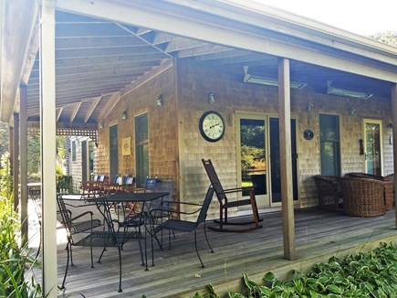 Edgartown Martha's Vineyard vacation rental - The Wrap-around Farmer's Porch