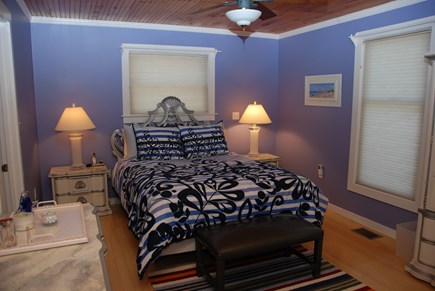 Edgartown Martha's Vineyard vacation rental - Main house master bedroom