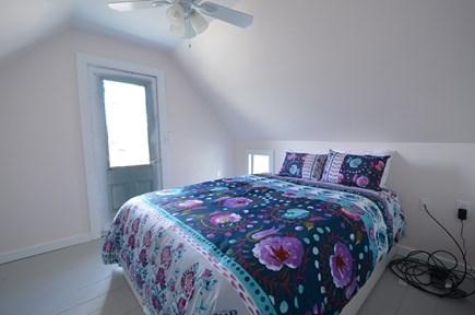 Oak Bluffs Martha's Vineyard vacation rental - Queen Bedroom with View of Oak Bluffs harbor