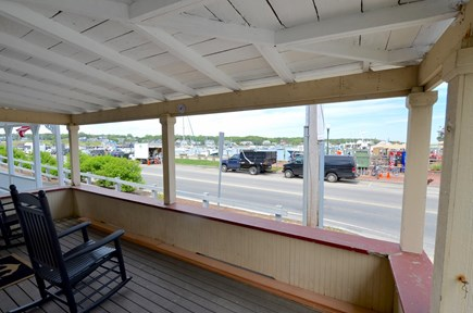 Oak Bluffs Martha's Vineyard vacation rental - Front Porch with View of Harbor