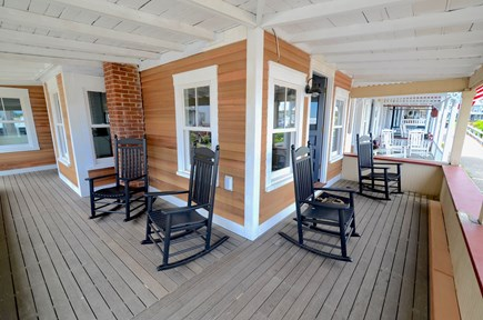Oak Bluffs Martha's Vineyard vacation rental - Cozy Porch with Water View